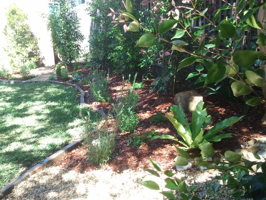 Rodd Point garden edge