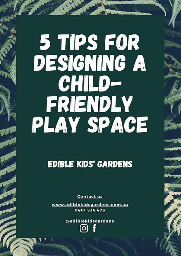 5 tips for designing a child-friendly pl