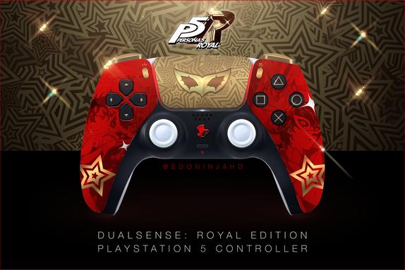 Persona-5-Royal-DualSense-Controller-Moc