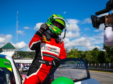 Wright Motorsports Storms to the GTD Pole at Lime Rock Park