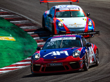 Wright Motorsports Salvages Two Runner-Up Championships in Porsche GT3 Cup Challenge USA Finale