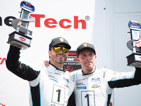 Wright Motorsports Scores Podium, Makes Points Gain in Heated Lime Rock Weekend