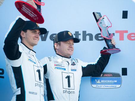 Wright Motorsports Scores Win and Podium Finish at Laguna Seca