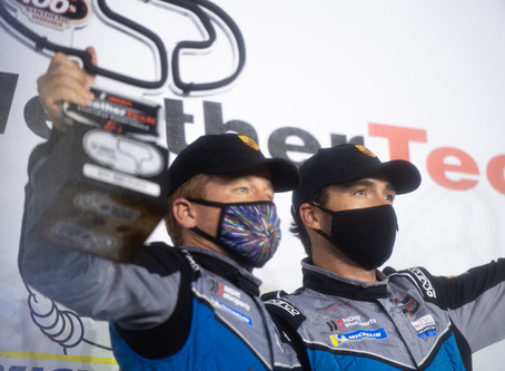 Wright Motorsports Secures Podium, Closes in on Championship Battle in the Rain
