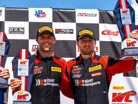 Wright Motorsports Leaves a Bittersweet Grand Prix of Utah with Two Podiums