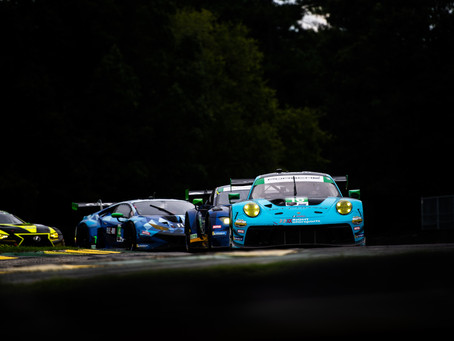 Race Recap: Wright Motorsports Charges to Finish Fifth at Michelin GT Challenge