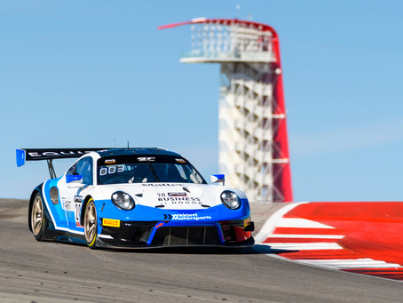 Jan Heylen Joins Wright Motorsports for Austin GT World Challenge Event