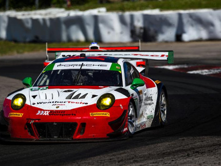 Wright Motorsports Faces Challenges at Canadian Tire Motorsport Park