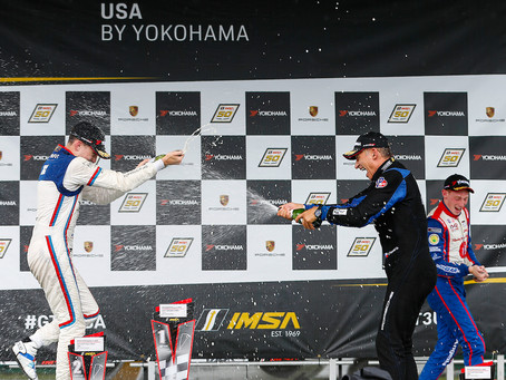 Root Breaks Through with a Victory Sweep at Virginia International Raceway