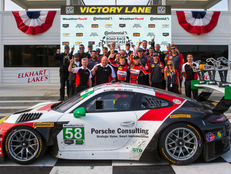 Wright Motorsports Breaks Through with a Victory at Road America