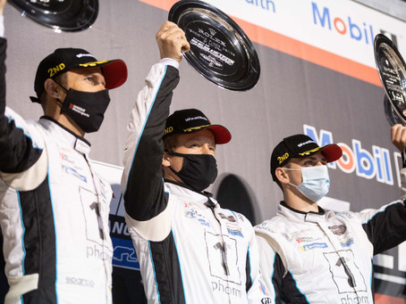 Wright Motorsports Takes Points Lead after Sebring Podium