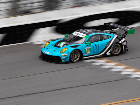 Wright Motorsports Roars into 2020 with Successful Daytona Test