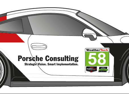 Wright Motorsports Teams with Porsche Consulting and Porsche Digital for Rolex 24 Return