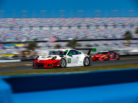 Wright Motorsports Completes a Productive Test at the Roar Before the Rolex 24