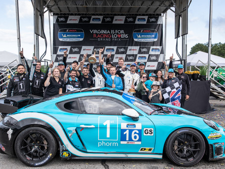 Wright Motorsports Captures Victory at VIRginia International Raceway