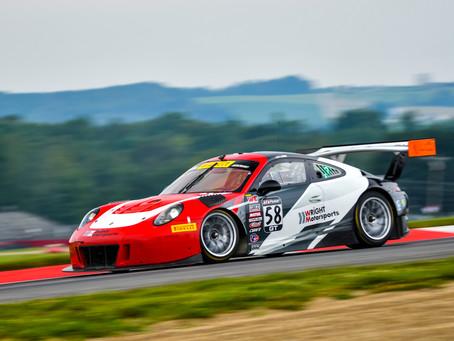 Wright Motorsports Returns to the Podium at Mid-Ohio