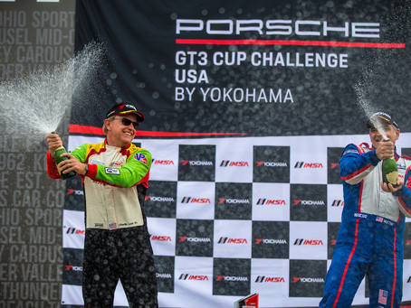 Luck takes Long Road from NASCAR to Porsche GT3 Cup Challenge Points Lead