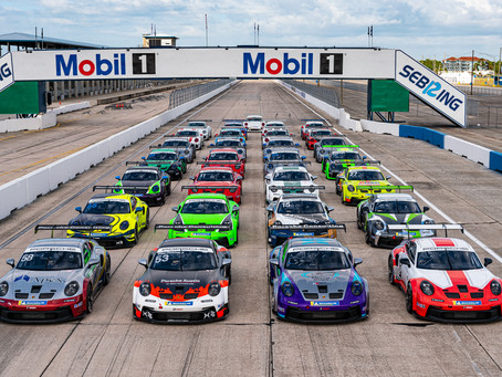 Wright Motorsports Enters New Carrera Cup Series with Three Car Effort