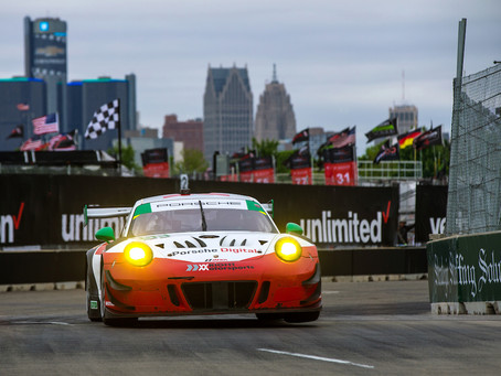 Wright Motorsports Soldiers to the Finish in Detroit