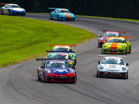 Poordad Headlines Wright Motorsport's Drive to Victory at VIR