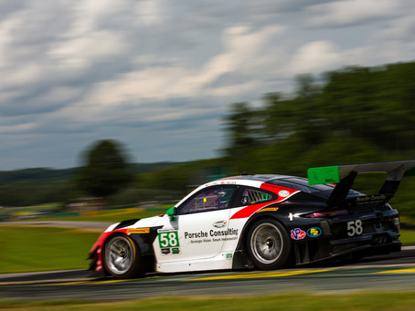 Wright Motorsports Primed for Season Finale at Petit Le Mans
