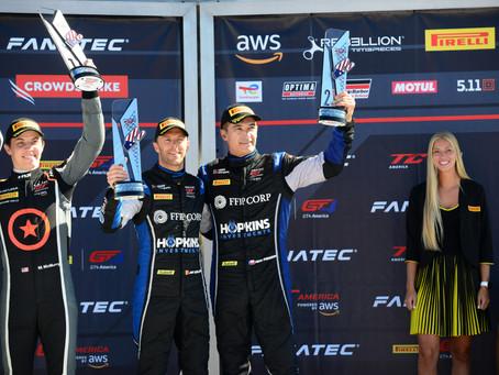 Wright Motorsports Maintains Points Lead at Watkins Glen International