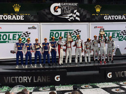Rolex 24 at Daytona PODIUM