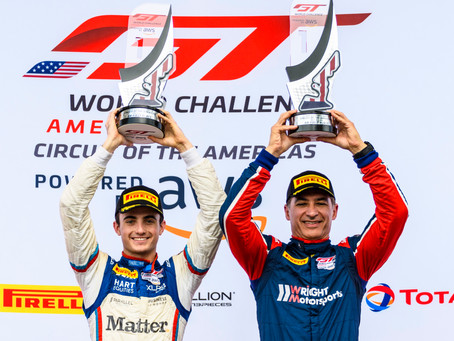 Wright Motorsports Sweeps Am Class in Austin GT World Challenge America