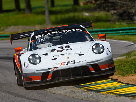 Wright Motorsports Partners with Pfaff Porsche Ahead of CTMP