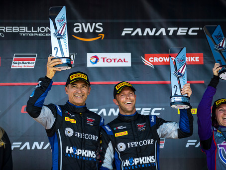 Wright Motorsports Increases Point Leads Following Podium Success at VIR