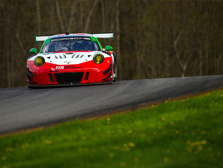 Wright Motorsports Focuses Forward at Mid-Ohio Sports Car Course