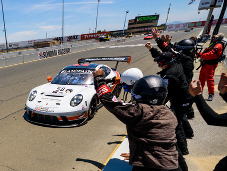Wright Motorsports Earns a Break Through Victory In Sonoma