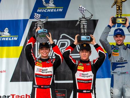 Wright Motorsports Returns to the Podium at VIRginia International Raceway