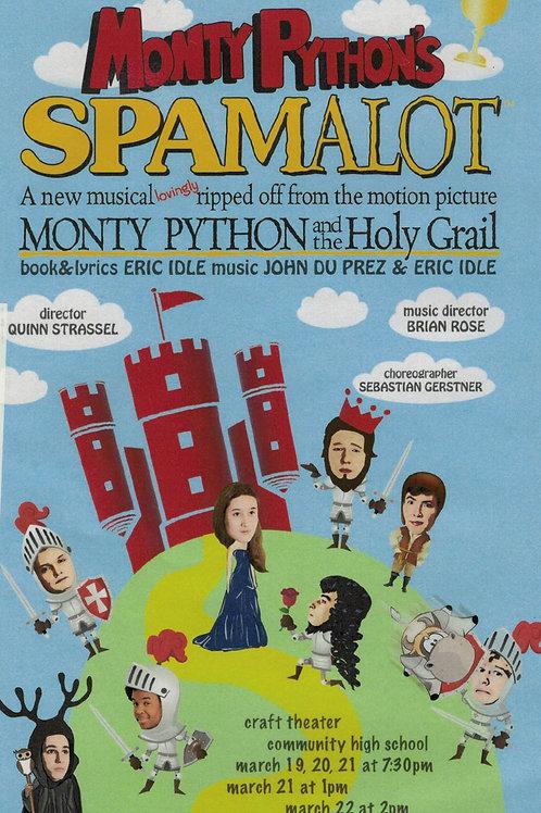 Spamalot DVD