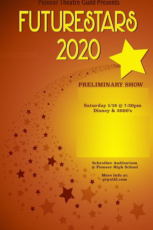 FutureStars 2020 - Saturday January 18 @ 7:30 - PR2