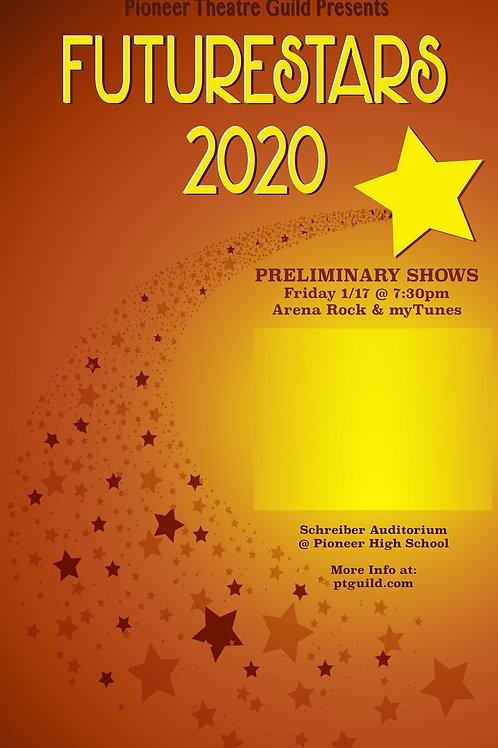 FutureStars 2020 - Friday January 17 @ 7:30 - PR1