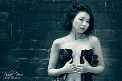 Olivia - Implied Art Nude Black