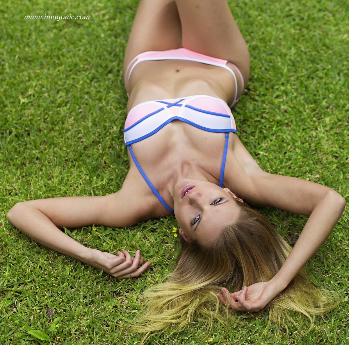 Yana - Green Grass Bikini