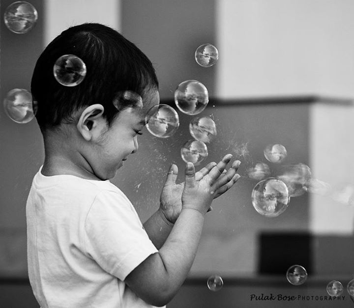 Bubbles of joy