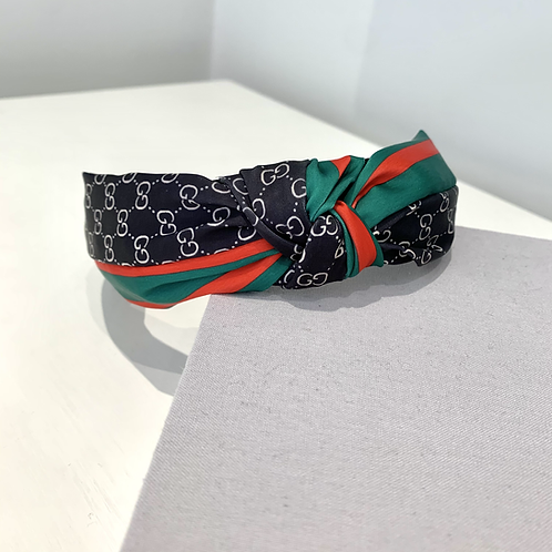 Black Gucci Knot Inspired