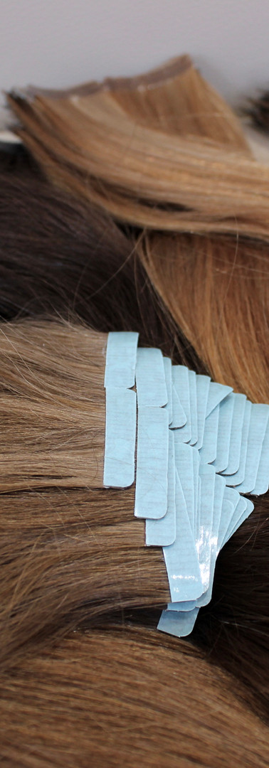 Virgin Russian Tape Extensions
