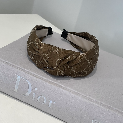 Choc Gucci Knot Inspired