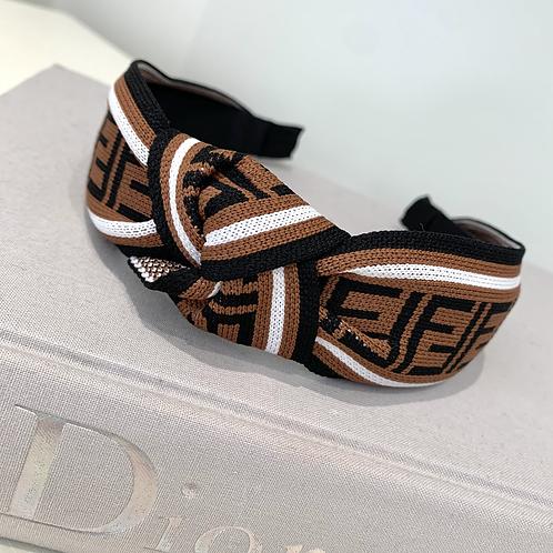 Choc Fendi Knot Inspired
