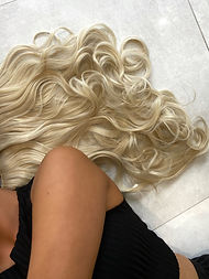 Ashleigh Hair, Clip-in hair extensions. Synthetic Hair Extensions
