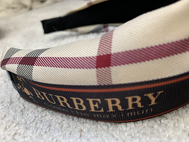 burberry inspired headband