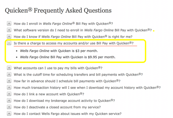Fixed! Quicken not downloading Wells Fargo errors and new $3 fee for direct connect :QMac 2017: AGGR