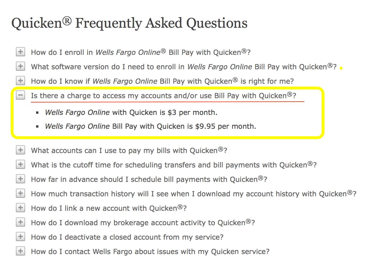Quicken not Downloading from Wells Fargo QMac 2017