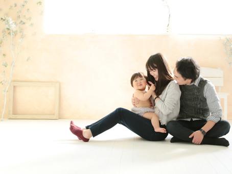 自然な家族写真 | スタジオエルオー | 湘南フォトスタジオ