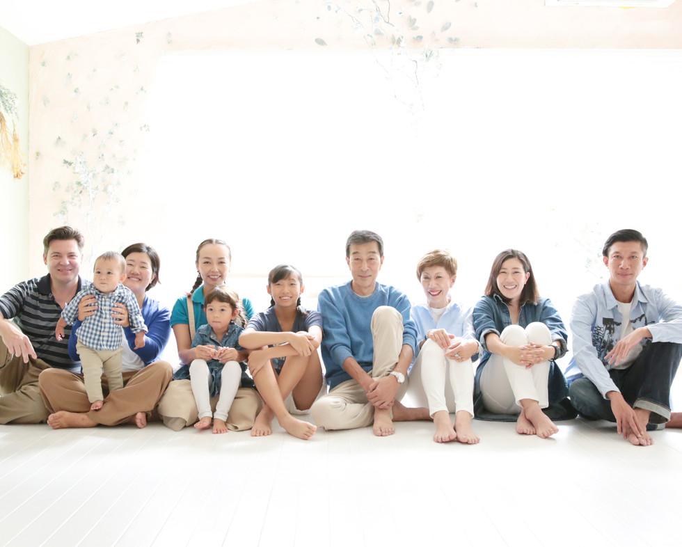 家族写真,横浜,湘南辻堂