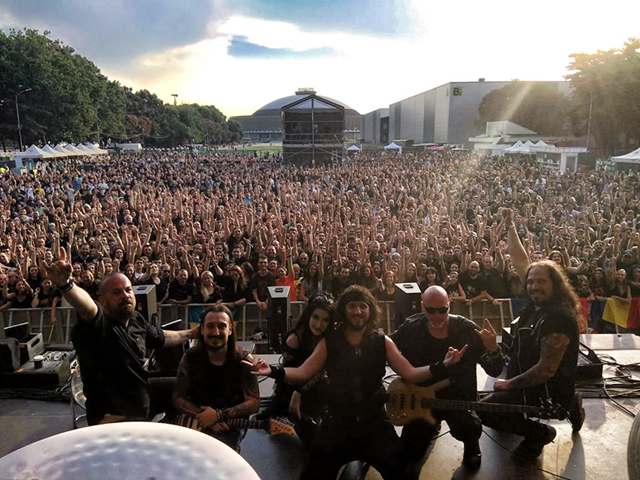 Supporting Nightwish 2018